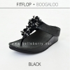 FitFlop : BOOGALOO : Black : Size US 7 / EU 38
