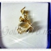 จี้มังกรอุ้มแก้วสารพัดนึก gold plated 5microns/white gold plated