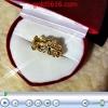 แหวนช่อดอกไม้เพชร 2microns