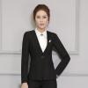 เสื้อสูทยูนิฟอร์มพนักงานออฟฟิต เสื้อสูทไม่มีปกสีดำ