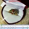 แหวนเพชรซีก ทอง2microns
