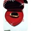 แหวนนิลหุ้มทองหนา 5Microns