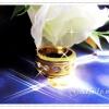 แหวนทองฝังเพชร gold plated 5microns/white gold plated