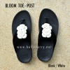 **พร้อมส่ง** FitFlop BLOOM : Black/White : Size US 8 / EU 39