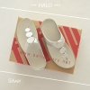 * NEW * FitFlop : HALO : Silver : Size US 6 / EU 37