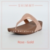 * NEW * FitFlop : Shimmy : Rose Gold : Size US 6 / EU 37