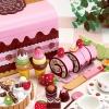 ชุดหีบขนมสตรอเบอร์รี่ ช็อคโกแลตปาร์ตี้แบบฝายก ของ Mother Garden (Mother Garden Chocolate Party Set - Box Case)