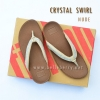 FitFlop : CRYSTAL SWIRL : Nude : Size US 7 / EU 38