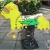 PP-NW01 สปริงโยกเยกม้าน้อยสีเหลือง