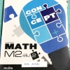 ►The BTS◄ MA A341 พี่แซ็ก , อ.บัณฑิตย์ Concept Maths ม.2 เล่ม 2 มีสรุปเนื้อหา สูตรสำคัญ และข้อสรุปที่น่าสนใจเพิ่มเติม มีแบบทดสอบประจำบท ในหนังสือมีจดบางหน้า โจทย์ข้อที่ไม่ได้จดคำตอบไม่มีเฉลย หนังสือเล่มหนาใหญ่