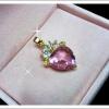 จี้พลอยชมพู pink shapphire
