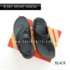 * NEW * FitFlop : Sling Mens Weave Sandal : Black / Dark Shadow : Size US 10 / EU 43