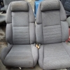 Nissan 300ZX เบาะNissan 300ZX สีเทา เบาะขวาไฟฟ้าปรับเลื่อน,เอนหลัง,ยกก้น,ยกชันเข่า ส่วนดันหลังและขยับปีกหุบ,กางออกปรับด้วยมือ manual เบาะซ้ายปรับด้วยมือ เบาะนิสสัน 300ZX เบาะ300ZX เบาะซิ่ง เบาะไฟฟ้า เบาะแต่ง