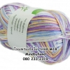 ไหมพรม Bamboo Cotton สีเหลือบ รหัสสี M18