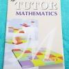 ►The Tutor◄ หนังสือเรียนคณิตศาสตร์ เมตริกซ์ มีสรุปสูตรสั้นๆ โจทย์เยอะมาก ทั้งโจทย์ทบทวน #และโจทย์แปลกๆ ด้านหลังมีเฉลย หนังสือใหม่เอี่ยม