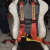 ฺ Belt SABELT 4จุด made in ITALY ของแท้ มาจากญี่ปุ่น เบลท์ Belt4จุด Beltรถซิ่ง เบลท์รถซิ่ง รถแต่ง เบลท์รถแข่ง