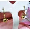 ต่างหู gold plated 2microns