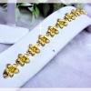 สร้อยข้อมือทองสวิส gold plated 1microns