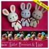แพทเทิร์นตุ๊กตาถักกระต่ายน้อยอีสเตอร์ (Easter Bunnies)