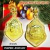 Inspire Jewelry ,จี้หลวงพ่อพุทธโสธร ขนาด 2x3cm. งานจิวเวลลี่ กรอบผ่าหวาย หุ้มทองแท้ 100% 24K สวยหรู งดงาม เป็นสิริมงคลอย่างที่สุด