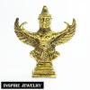 "Inspire Jewelry พญาครุฑเหยียบก้อนทอง หล่อทองเหลือง บารมี ""องค์พญาครุฑ"" สู่ความเจริญรุ่งเรืองแห่งชีวิต ขนาด 8x7cm."