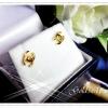 ต่างหูชาแนลทองเล็ก gold plated