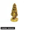 Inspire Jewelry ,จี้พระพรหมเลี่ยมทอง บูชาเพื่อช่วยปัดเป่าความขัดข้องอุปสรรค และส่งเสริมโชคและความสำเร็จ จี้พระพรหมณ์ หรือ จี้ท้าวมหาพรหม,พระพรหมมา,พระพรหมา,พระพรหมธาดา,ปชาบดี,อาทิกวี อาตมภู,โลกาธิปดี พระเครื่อง พระเครื่องยอดนิยม พุทธคุณ เครื่องรางความรัก