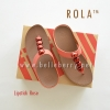 ** NEW ** FitFlop : ROLA : Lipstick Rose : Size US 8 / EU 39