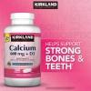 CALCIUM 600 mg + D3 ขนาด 500 เม็ด- แคลเซี่ยม เสริมสร้างกระดูก, รักษาฟันให้อยู่นาน (ราคาพิเศษ exp.09/2019) หมด