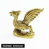 Inspire Jewelry หงส์ หล่อด้วยทองเหลือง เสริมความมั่งคั่ง swan Brass casting Fortune Desk, bedroom, king room, desk, home decoration