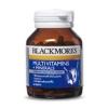 Blackmores Multi Vitamin + Mineral 120 เม็ด สำหรับผู้ป่วยพักฟื้น ผู้ที่ร่างกายอ่อนเพลีย ต้องการบำรุง ผู้ที่ทำงานหนัก