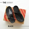 * NEW * FitFlop The Skinny : Black : Size US 7 / EU 38