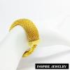 Inspire Jewelry สร้อยข้อมือทอง น้ำหนัก 21 กรัม งานทองไมครอน ชุบเศษทองคำแท้ ยาว 16.5 cm. x 1.5 cm.