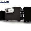 (2.1) SAAG (Micro 2.1) Black/Silver