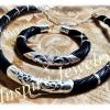 ชุดกำไลขนหางช้างพร้อม โชคคอขนหางช้าง จับเงิน 92.5