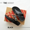 * NEW * FitFlop The Skinny : Black : Size US 6 / EU 37