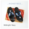 * NEW * FitFlop : Honeybee : Midnight Navy : Size US 8 / EU 39