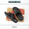 FitFlop : Swoop Slide : Black : Size US 8 / EU 39