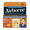 Airborne วิตามินสมุนไพร21ชนิด เม็ดฟู่จากUSA ใช้ทานป้องกันหวัด เสริมภูมิคุ้มกันทันที เมื่อไปรพ.หรือคนแออัด หรือไป ตปท.( หลอด10เม็ด รสส้ม) exp.09/2017 หมด