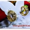 ต่างหูทอง gold plated 0.5microns