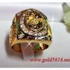 แหวนเพชร gold plated / white gold plated
