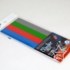 GX-2003 รีฟิลปากกา 3 มิติ Plastic Packs (Mixed color) - Grey, Blue,Green, Red