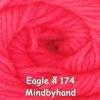 ไหมพรม Eagle กลุ่มใหญ่ สีพื้น รหัสสี 174
