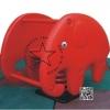 PP-toro09 สปริงโยกเยกช้างสีแดง