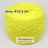 ไหม Shiny #18 รหัสสี 04 สีเหลืองสด