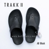 FitFlop TRAKK II : All Black : Size US 12 / EU 45