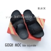 * NEW * FitFlop Men's : GOGH MOC Slide : Black : Size US 12 / EU 45