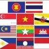 PF-021 ชุุด ธงอาเซียนเบอร์12 ปักแซก-ผ้าร่ม 120x180