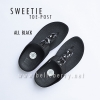 * NEW * FitFlop Sweetie : Black : Size US 7 / EU 38
