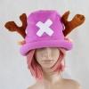 หมวกช๊อปเปอร์ One Piece สีม่วง